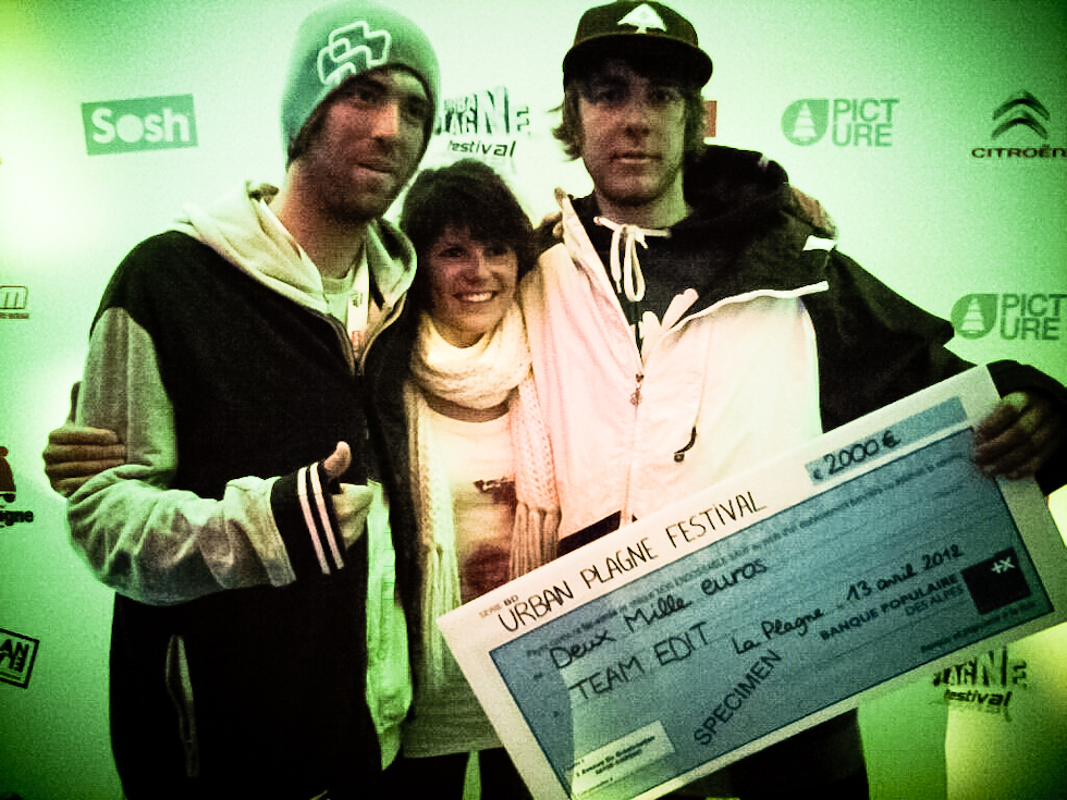 Results Urban Plagne with the guys !