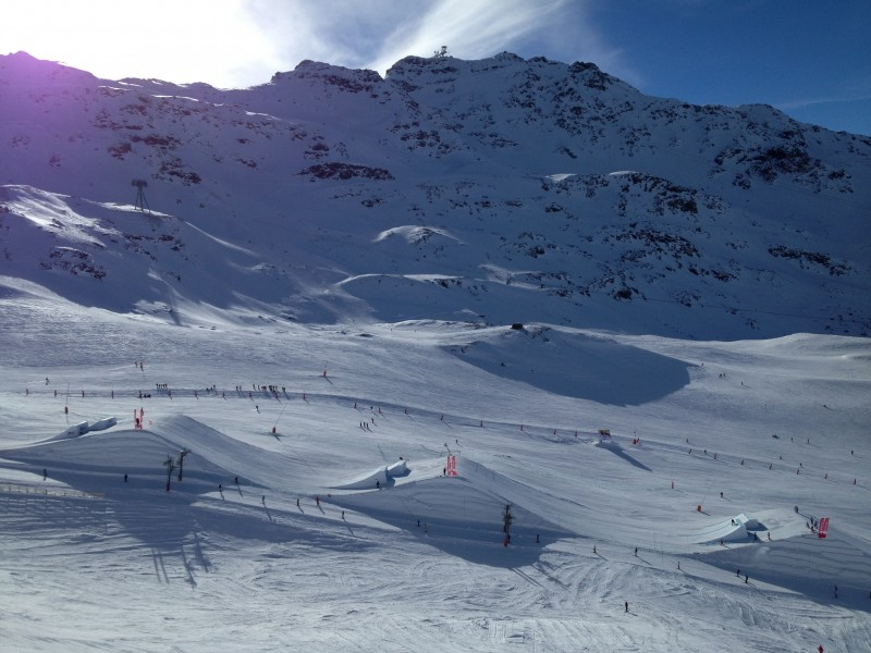 Val Thorens - slopestyle