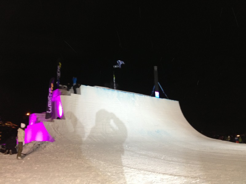 Our crazy snowboarder Clemence Grimal