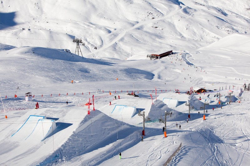 we had a nice slopestyle in Val Thorens