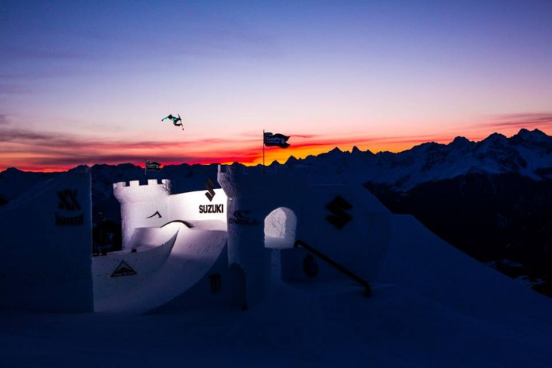 Sunrise session - Jamie Anderson