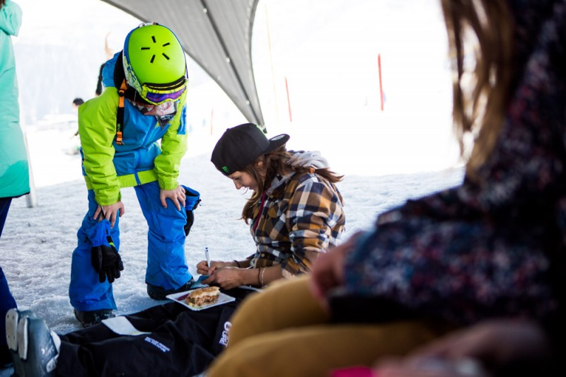 Contest day, meeting local kids :) photo: David Malacrida